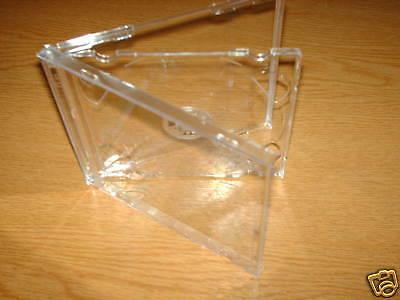 5  Cd Slim Double Cases With Clear Tray