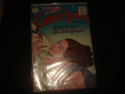 GIRLS' LOVE STORIES #37 Golden Age Young Romance DC Comics 1955 VFN-