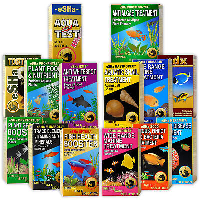 Esha Water Treatment Test Strip Algae Fish Tank Aquarium Freshwater Marine