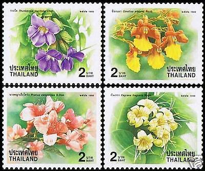 Thailand Stamp  New Year Flowers 2000  MNH