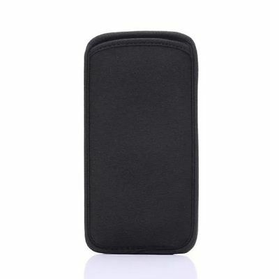 Black Neoprene Case For Apple iPhone X XS 8 7 6 6S Bag Soft Pouch Pocket