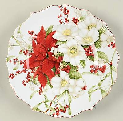 222 Fifth WINTER HARMONY Salad Plate 10081900