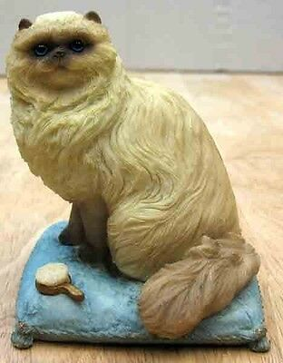 """STONE CRITTERS FROM UNITED DESIGN-HIMALAYAN CAT- """"SITTING PRETTY"""" ITEM SC1047"""