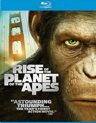 Rise of the Planet of the Apes (Blu-ray Disc)Brand New Sealed Fast Free Shipping