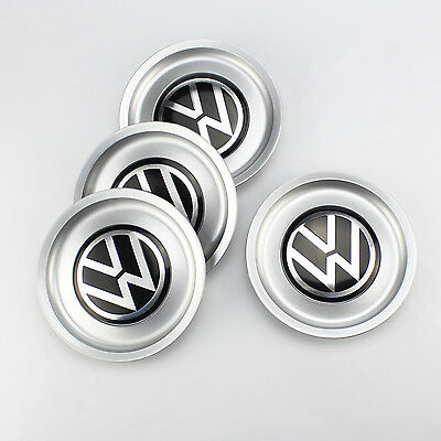 4x155mm VW Logo Wheel Center Hub Rim Cap Cover 1J0601149B for Jetta Golf MK4 New