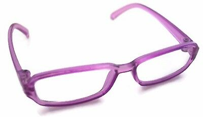 """Purple Rimmed Eye Glasses made for 18"""" American Girl Doll Clothes Accessories"""