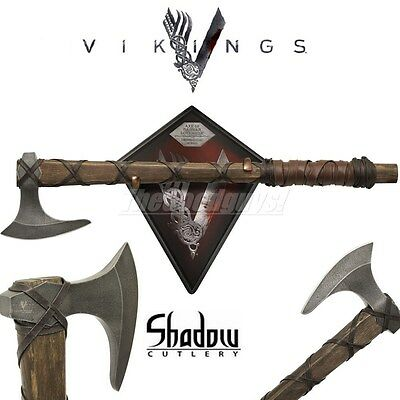 Vikings - AXE OF RAGNAR LOTHBROK - Limited Edition (Licenced) SH8000LE NEW