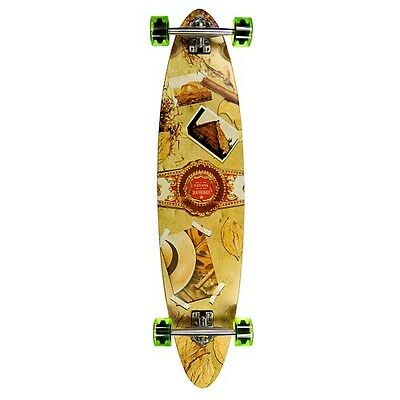 Havana Pintail Stogie Longboard - Cheap Complete Wooden Longboard - Long Board