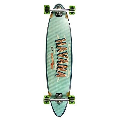 Havana Pintail Flight Longboard - Cheap Complete Wooden Longboard - Long Board