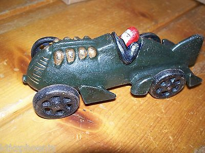 Vintage Cast Iron Replica  1920s Race Car    NIB TM103