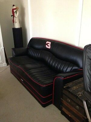 Couch, Sofa, Leather, collector, Dale Earnhardt