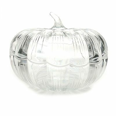 """Marquis by Waterford 8"""" Crystal Covered Pumpkin NEW IN THE BOX"""