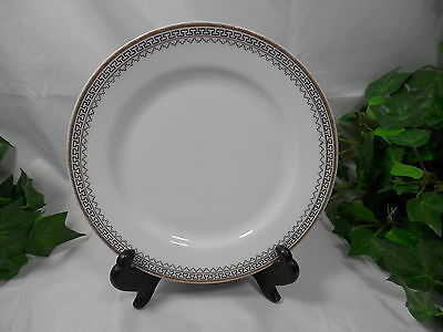 Set of 5 Bread Butter Plates ARDMORE by Heinrich White with Gold Trim 109200