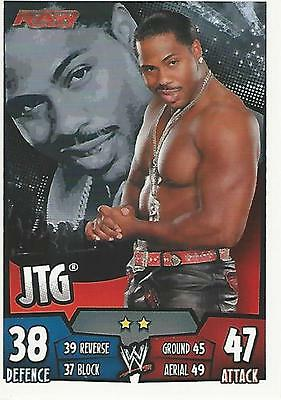 WWE Topps Slam Attax Rumble Trading Card JTG