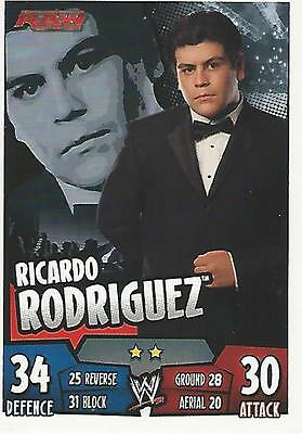 WWE Topps Slam Attax Rumble Trading Card Ricardo Rodriguez