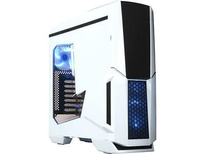 DIYPC Gamemax-W White Dual USB 3.0 ATX Full Tower Gaming Computer Case with Buil