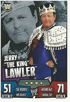 WWE Topps Slam Attax Rumble Trading Card Jerry The King Lawler