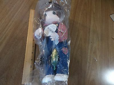 PRECIOUS MOMENTS ( MABEL ) COUNTRY GIRL NEW OLD STOCK 1998