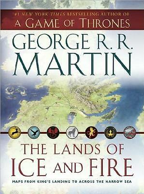 A GAME OF THRONES ~ LANDS OF ICE & FIRE ~ MAPS FROM KING'S LANDING TO ACROSS SEA