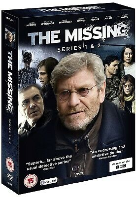 THE MISSING 1+2 (2014+2016) COMPLETE BBC Crime Drama Season Series R2 DVD not US