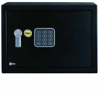 Yale Value Compact Safe Solid Steel 15mm Locking Bolt Electronic Combination PIN