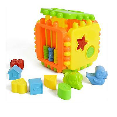 Colorful Child Gift Plastic Children Kid Puzzle Educational Building Blocks Toy