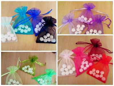 FREE postage - 3 sizes Premium Organza Jewellery pouch Wedding Favor Gift bags