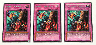 YuGiOh! Yu-Gi-Oh! Dramatic Rescue x3 Playset MFC-097 Magician's Force NM