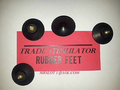 TRADE STIMULATOR  RUBBER FEET, SET OF 4 RUBBER FEET FOR A TRADE STIMULATOR