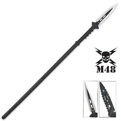 United Cutlery - M48 TALON SURVIVAL SPEAR w/ Blade Sheath UC2961 New