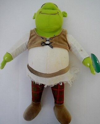 "Dreamworks 17"" Shrek Green Ogre Plush Stuffed Animal Toy NWT"