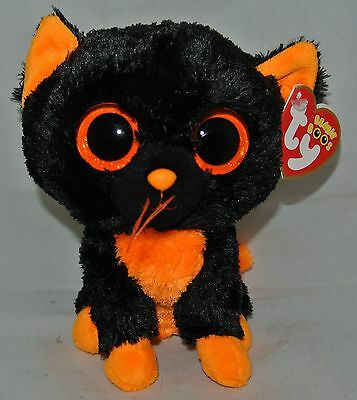 "2013 TY Beanie BOOS ""MOONLIGHT""~ 6"" size  RED HEART TAG- New Glitter Eyes"