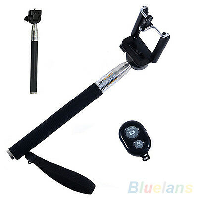 Durable Selfie Monopod Extendable Handheld Phone Holder Bluetooth Remote Control