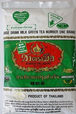 Thai Green Tea Mix - Number One Brand 200g - Thai Green Tea Latte