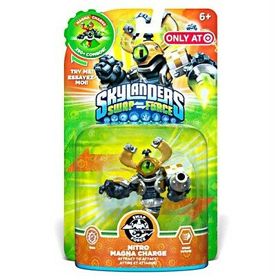 NITRO MAGNA CHARGE Skylanders SWAP Force NEW SEALED exclusive GOLD VARIANT