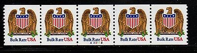 #2602 Eagle & Shield PNC5  Pl #A22113 - MNH