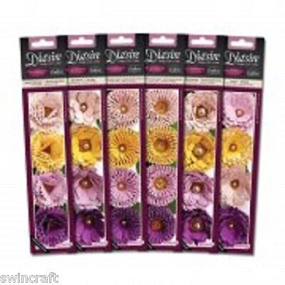Crafters Companion Die'sire Classiques 3D & QUILLING Flower Cutting Dies *