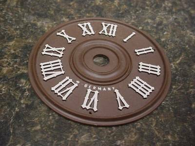 "Plastic Cuckoo Coo Coo Clock Center 2 3/4"" Dial Face Clock Parts or Repair E202V"