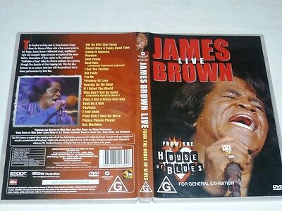 James Brown - Live From The House Of Blues Las Vegas (DVD, 2000) DVD5 Region 2 4