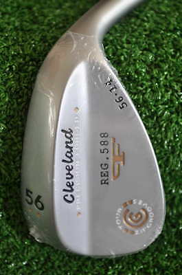 Cleveland 588 Forged Satin Chrome - Sand Wedge 56° Bounce 14° - Nuovo Sw0218116