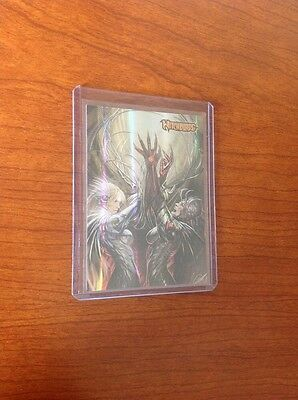 2014 Philly Non Sport Witchblade Foil Promo 1 60th Promo