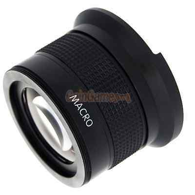 0.35X 52mm Fisheye Wide Angle Lens Compatible with AF & IR for SLR Cameras US