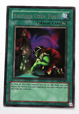 YuGiOh! Yu-Gi-Oh! Second Coin Toss LOD-083 Legacy of Darkness NM