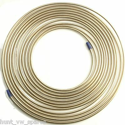 Cupro Nickel Fuel / Brake Pipe Hose Line 25Ft / Foot - 1/4""