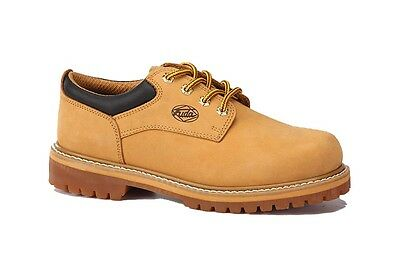 Fuda Men's Leather Water & Oil Resistant Work Boots 421 Wheat Size 5-13