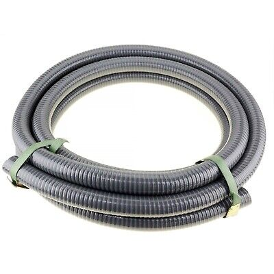 """10m x 1"""" 25mm ID Suction Hose for Transfer High Pressure Fire Water Pump"""