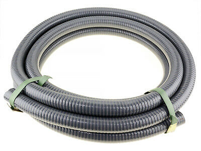 """10m x 3"""" 76mm ID Suction Hose 4 Transfer High Pressure Fire Fighting Water Pump"""