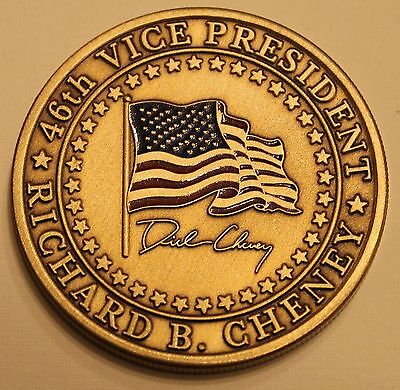Richard B. Cheney 46th Vice President of the United States Challenge Coin
