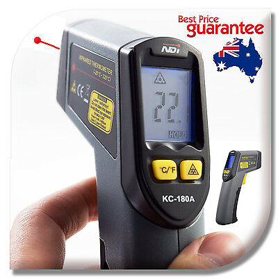 Non-Contact Infrared IR Thermometer Temperature Laser Gun Wireless Temp Tester