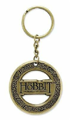 The Hobbit ~ One Ring Brass Tone Keychain ~ Neca ~ New Tolkien Lord Of The Rings